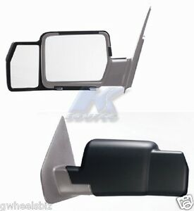 2004 2005 2008 Ford F 150 Lincoln Mark Lt Snap on Tow Mirror Extension pair
