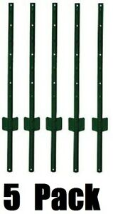 5 Midwest Air 901150a 6 Green Light Duty U Style 14 Gauge Steel