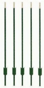 5 Midwest Air Tech 901177ab 7 Green Steel Studded Tee t Fence Posts