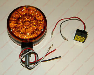 Led Amber Warning Light Flasher Unit For Allis Chalmers 170 175 185 190 220
