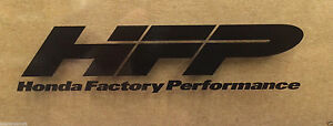 Genuine Honda Factory Performance Hfp Decal 3 5 X 1 Large Sticker