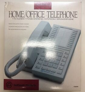 Bellsouth Supremacy 4300 Gr Touchtone 4 Line Home Office Telephone