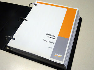 Case 450 Crawler Dozer Bulldozer Parts Catalog Manual Book New With Binder