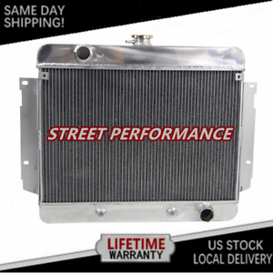 3 Row Aluminum Radiator For Chevy Caprice Impala Bel Air Biscayne 1970 1969