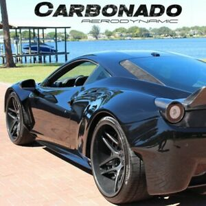 2010 2014 Ferrari 458 Italia Dp Walker Style Full Wide Body Fender Flares Kit