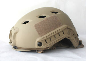 TACTICAL MILITARY US LIGHTWEIGHT OPS-CORE FAST BASE JUMP HELMET SAND COLOR