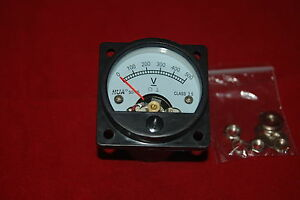 Dc 0 500v Analog Voltmeter Analogue Voltage Panel Meter So45 Directly Connect