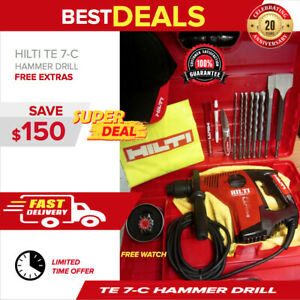 Hilti Te 7 c Hammer Drill In Great Shape Free Hilti Watch And More Fast Ship