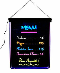 Frameless Led Writing Board 32 X 24 Menu Business Specials Rewritable Diy Sign