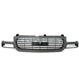 00 06 Yukon Xl Grill Grille Assembly Gray Frame Black Insert Gm1200429 19130786