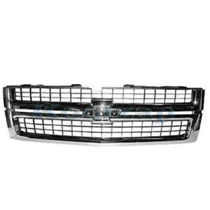 New 07 10 Silverado Pickup Truck Front Grill Grille Assembly Gm1200608 25825521