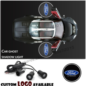 For Ford Car Door Logo Ghost Shadow Courtesy Projector Laser Welcome Cree Lights
