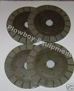 1975472c1 Brake Discs For Farmall Ih Tractor 1456 1466 1468 21456 12 Spl