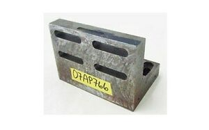 7 X 5 X 5 Slotted Angle Plate Work Holding Fixture