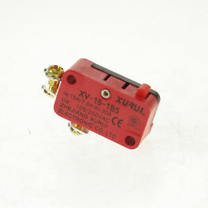 1 Xv 15 1b5 Nc Contact Miniature Basic Micro Switch Spst Pin Plunger Type 16a