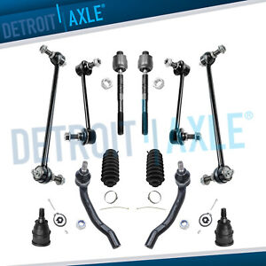 2001 2005 Honda Pilot Acura Mdx Ball Joint Sway Bar End Link Tierod Kit 12pc