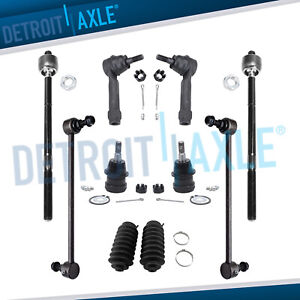 Complete 10pc Front Suspension Kit Chrysler Town Country Dodge Grand Caravan