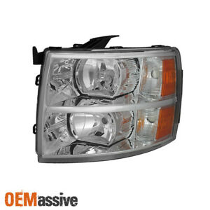 Fit 2007 2013 Chevy Silverado 1500 2500 3500 Driver Side Headlight Replacement