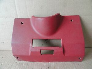 1985 1988 Monte Carlo El Camino Malibu Lower Under Dash Steering Column Vent Red