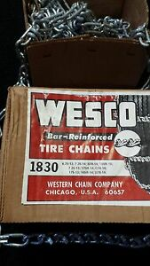 New Usa Snow Tire Chains Bar Reinforced 1830 P205 60r14 215 50 14 P205 50r15