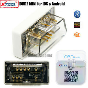 Xtool Iobd Mini Bluetooth Obd2 Interface For Android Ios Obd2 Eobd Protocol