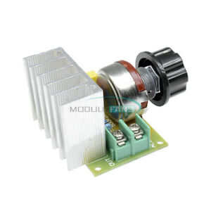 Speed Controller Ac 3800w Scr Electric Voltage Regulator Dimming Switch M