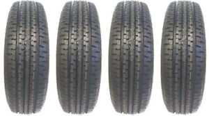 4 New St 235 80r16 Radial Tire 10 Ply Rated E 2358016 235 80 16 R16