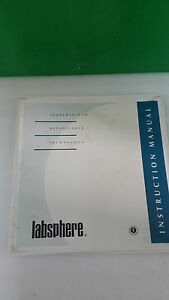 Labsphere Instruction Manual