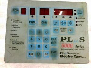 Electro Cam Programmable Limit Switch Ps 5124 10 m09