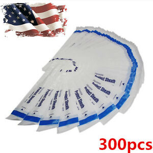 300pcs Disposable Dental Intraoral Camera Sleeves Sheaths Covers