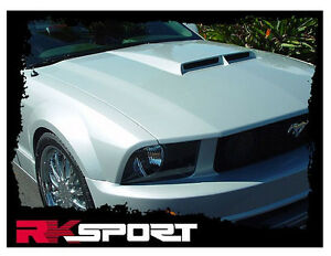 2005 09 Ford Mustang Functional Gt R Code Ram Air Hood By Rk Sport 18011000