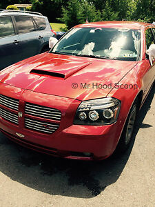 2005 2008 Hood Scoop For Dodge Magnum By Mrhoodscoop Unpainted Hs003