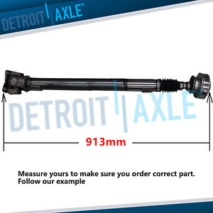 Front Drive Shaft U joint Green Tag 2005 2010 Jeep Commander Grand Cherokee 4x4
