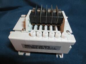 Rotary Limit Switch Stromag Planetary Gears Series 51 48 1 Ratio 6 Pole