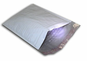 200 2 8 5x12 Poly Bubble Mailers Self Sealing Padded White Envelopes Aaca 8 5 x