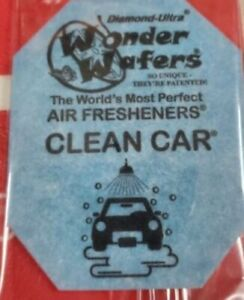 100 Wonder Wafers clean Car Scent Amazingly Fresh Air Freshener Clean Fragrance