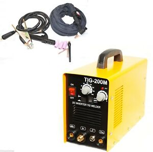 200m Tig Mma Arc Welding Machine 220v Stainless Welder Metal Copper