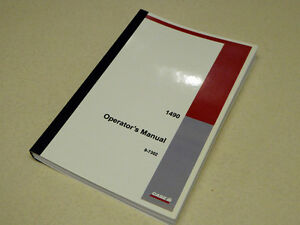 Case David Brown 1490 Tractor Operators Manual Owners Maintenance Book New