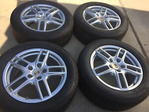 19 New Oem Original Factory Porsche Cayenne Made In Germany Turbo Wheels Tires