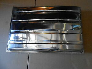 Mopar 68 69 70 Charger Stainless Steel Gas Fuel Tank New
