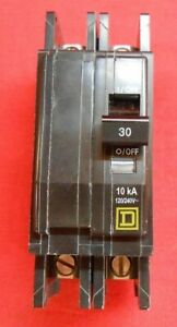 Square D Qou230 2 pole 30amp Qo Circuit Breaker New In Box
