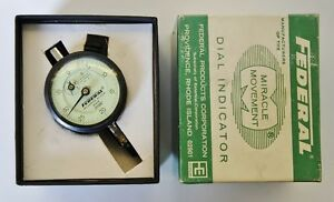Federal B6k Dial Indicator 0005 Graduations Usa