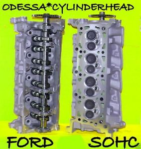 2 Ford Lincoln Navigator 4 6 Sohc Cylinder Heads Cast Rf 1l2e Only Rebuilt