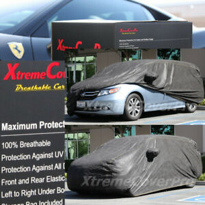 2016 2017 2018 Honda Hr v Breathable Car Cover W mirror Pocket Black