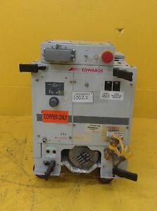 Iqdp40 Edwards A532 40 905 Dry Vacuum Pump D37207000 Hours Used Tested Working