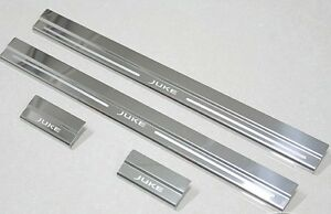 Fit Nissan Juke 2011 2012 2013 2014 2015 2016 Scuff Plate Door Stainless