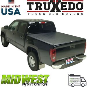 Truxedo Truxport Soft Roll Up Tonneau Cover 1994 04 Chevy S 10 Step Side 6 Bed