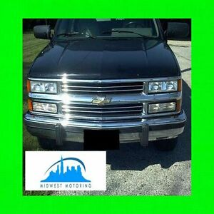 1988 1993 Chevy Chevrolet Silverado Chrome Trim For Grill Grille W 5yr Warranty