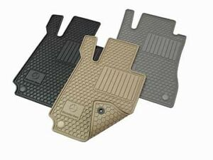 New Oem Mercedes benz All season Floor Mats All weather Rubber Mats