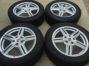 19 New Oem Original Factory Made In Germany Porsche Cayenne Turbo Wheels Tires